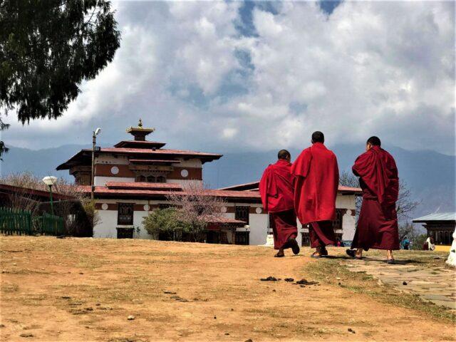 Sangchen Choekhor Monaste , the starting point of Bumdra Trek.