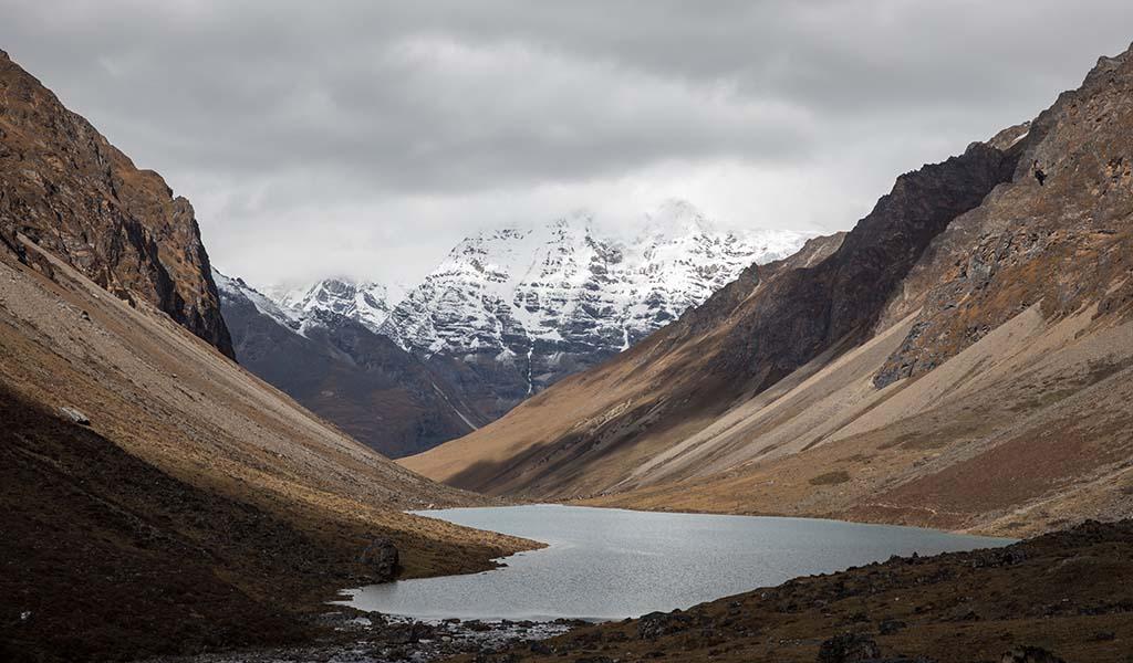 Tshophu Lake under Jigme Dorji National Park