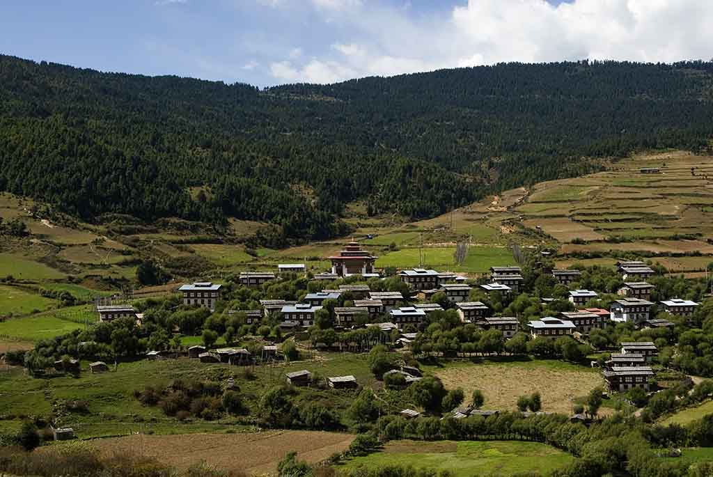 The Ura Village is centrally located at Ura Valley