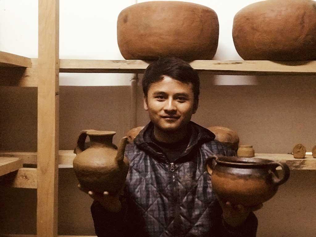 Pottery At Gangjur