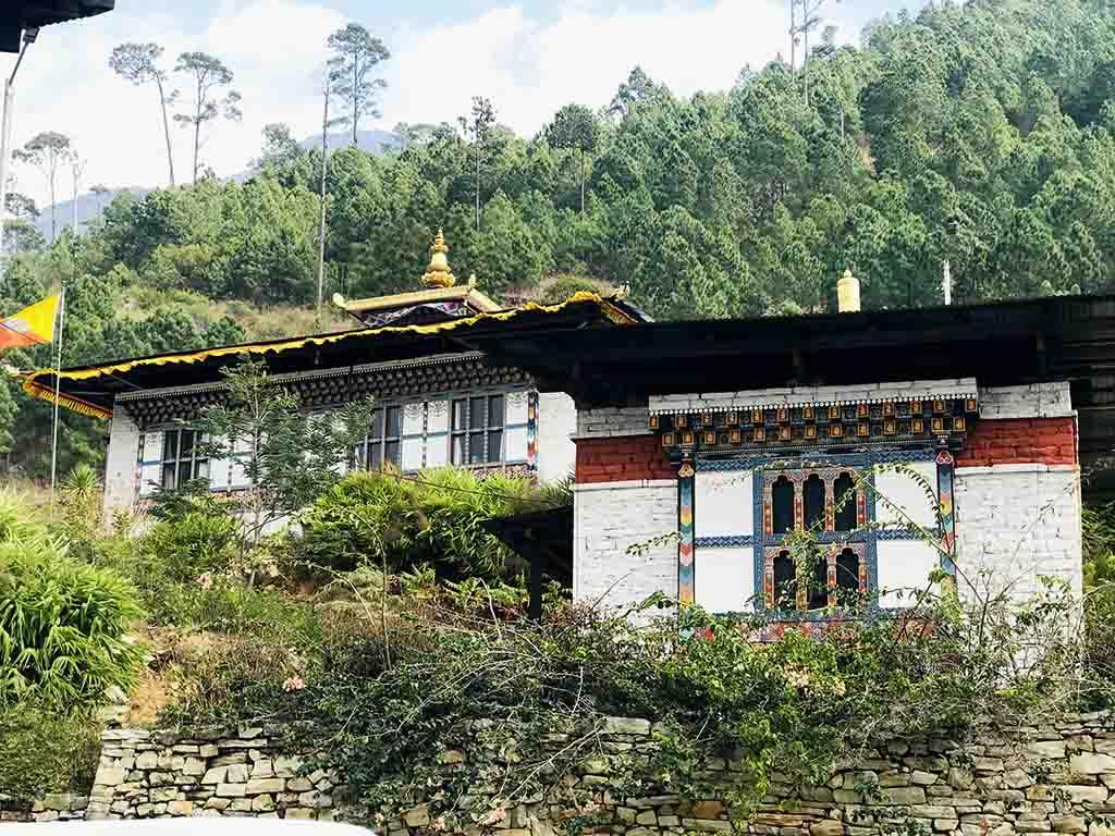 Je Khenpo Residence at Lhuntse