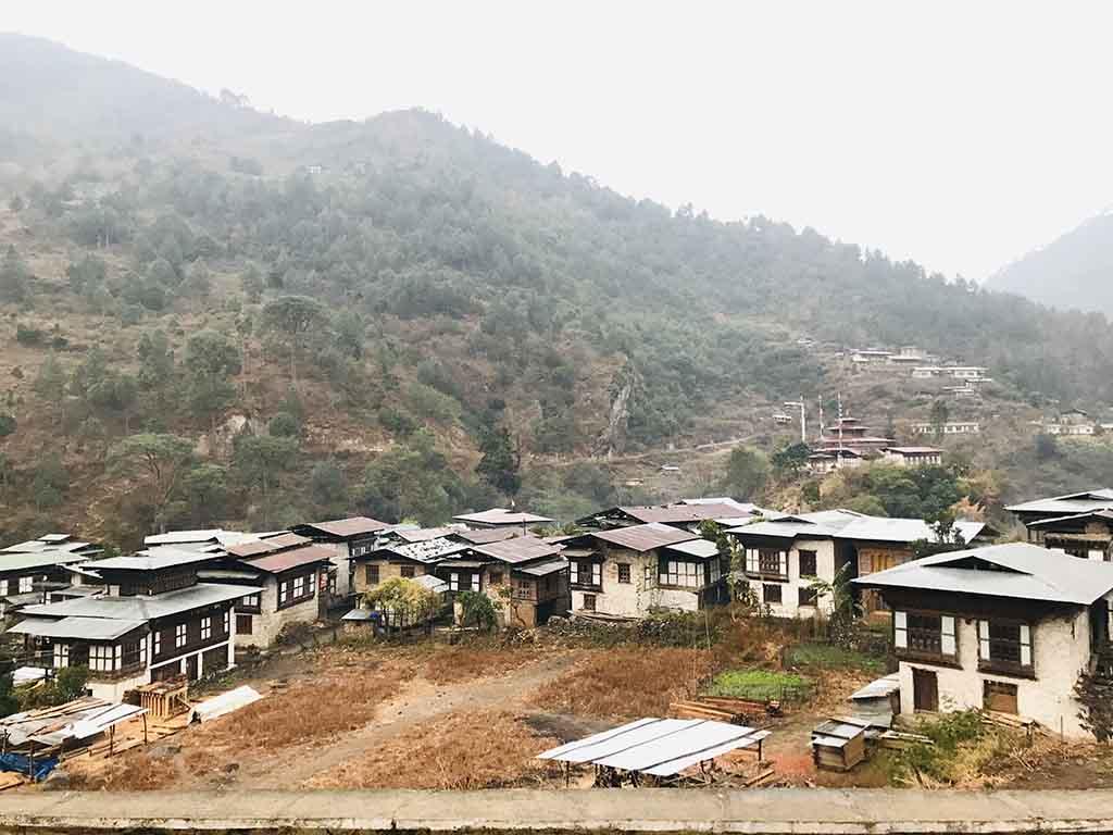 Khoma Village, Lhuentse