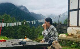 Tea At Chokhortse