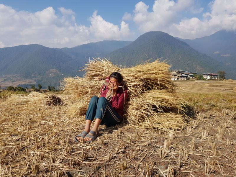 A Girl From Punakha Village
