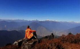 Camping in Himalayas of Bhutan