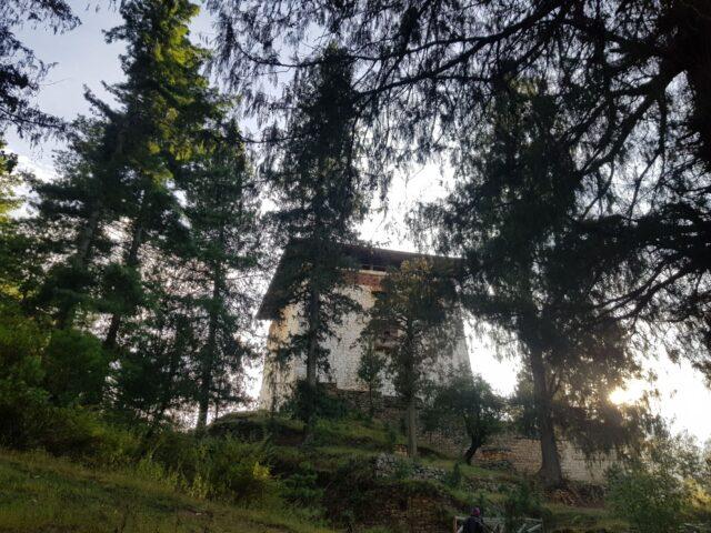 Zuri Dzong At Paro Bhutan