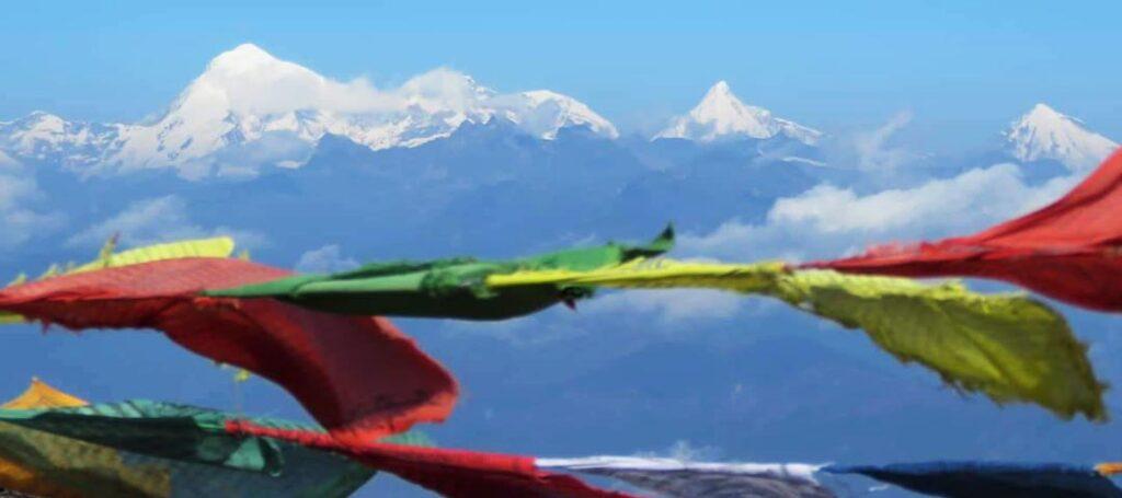 View of Eastern Himalaya Ranges
