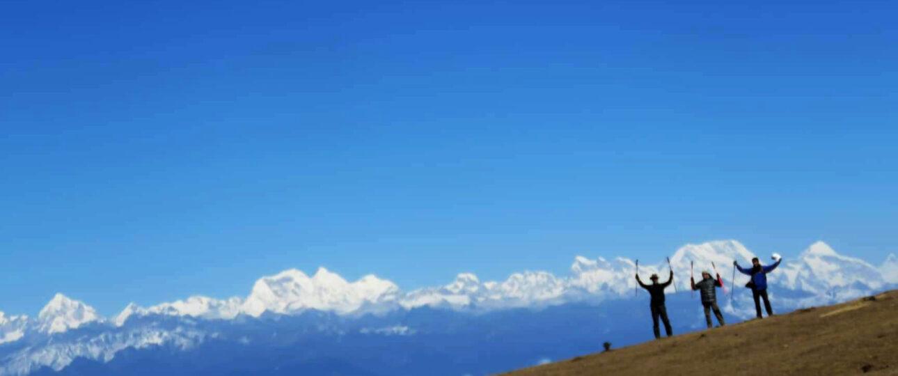View of Himalayas from Dagala Trek FP