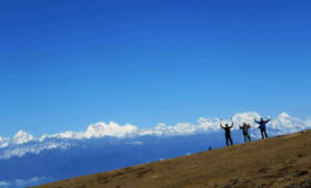 View of Himalayas from Dagala Trek FP