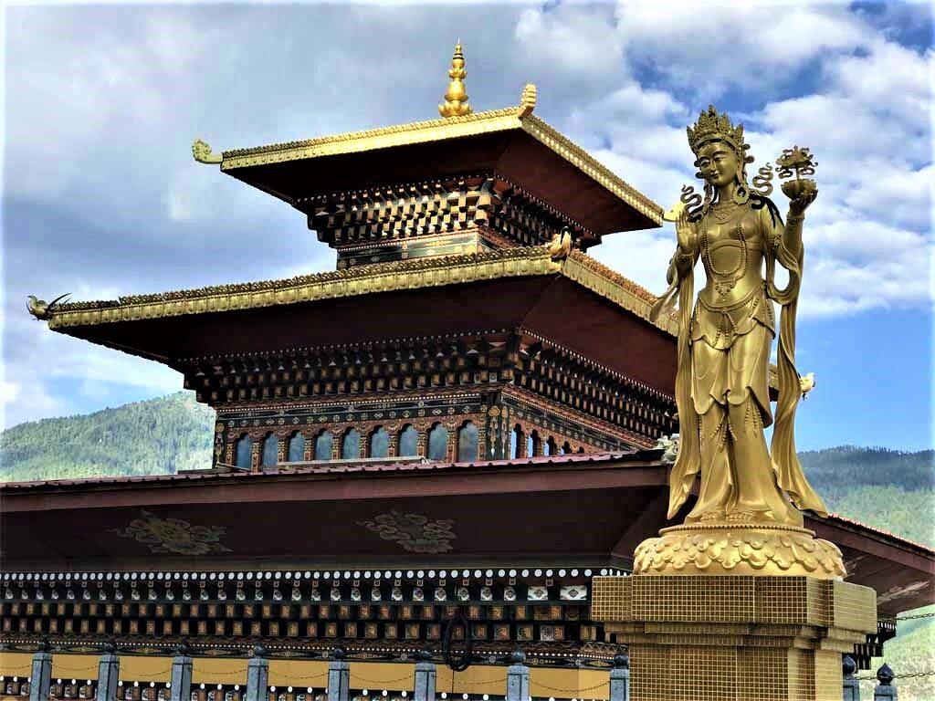 At Buddha Dordenma