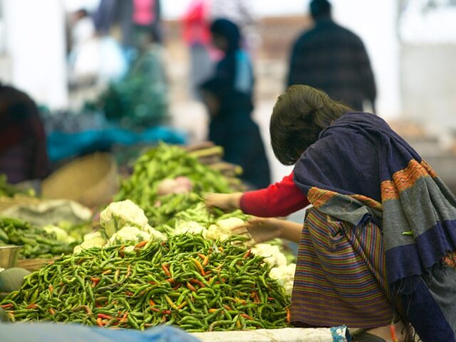 Places to visit in Thimphu:Centenary Farmers Market