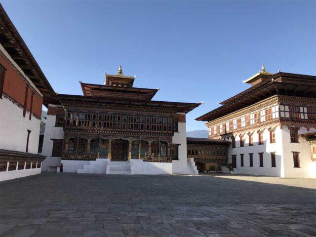 6. Tashichho Dzong