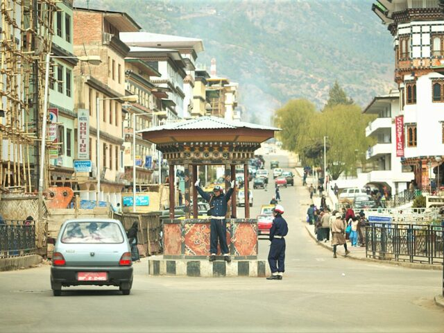 Interesting facts about Bhutan- Thimphu is the only capital city in the word without a single traffic signal