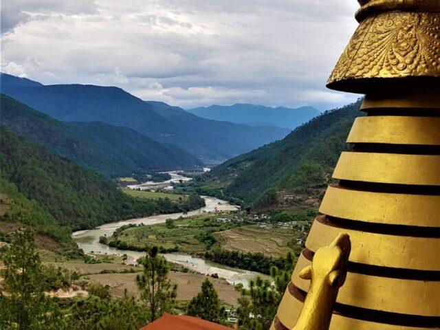 Khamsum Yulley Namgyal Chorten in Punakha
