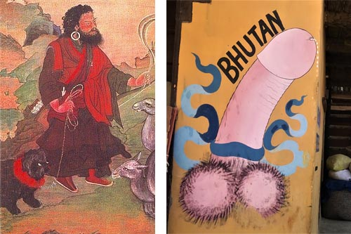 10 Interesting Facts about Bhutanthe divine mad monk