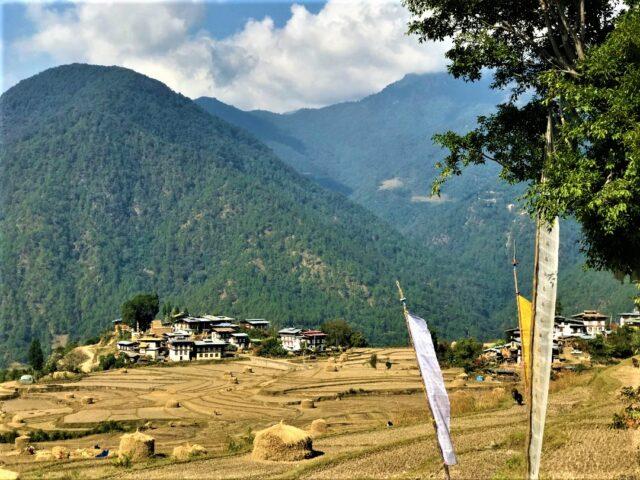 vilages in Bhutan