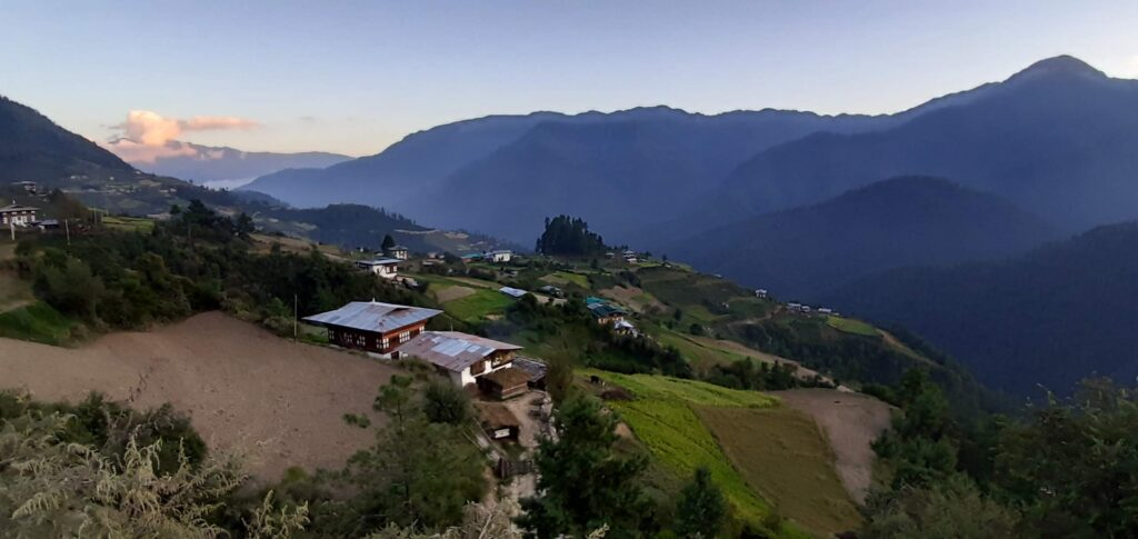 Village Life in Bhutan